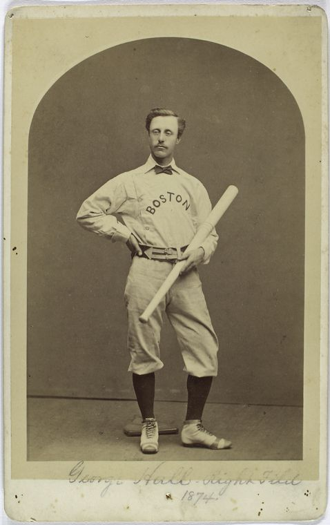 George Hall. (Photo: The A.G. Spalding Baseball Collection)