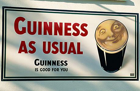 The mighty Guinness (Gavin Hellier/Robert Harding /AP Images)