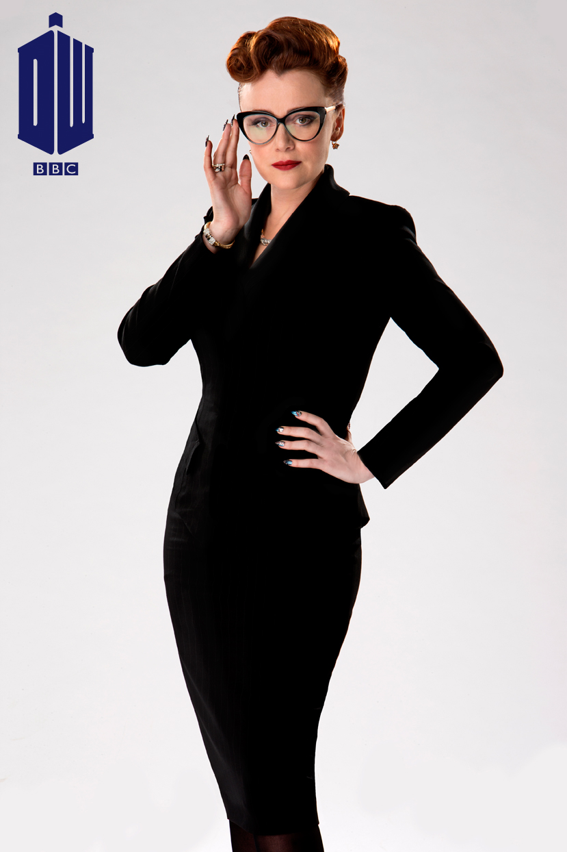 Keeley Hawes as Ms. Delphox on 'Doctor Who' (Photo: BBC AMERICA)