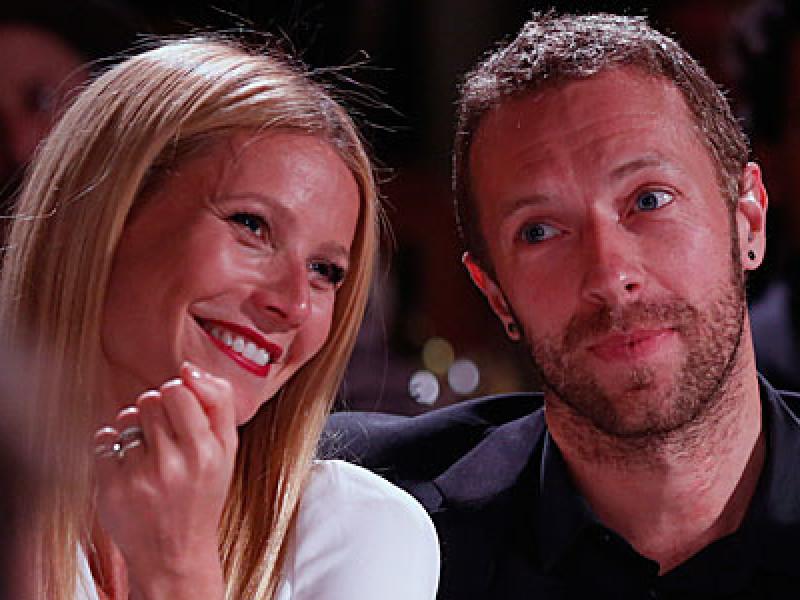 Chris Martin and Gwyneth Paltrow
