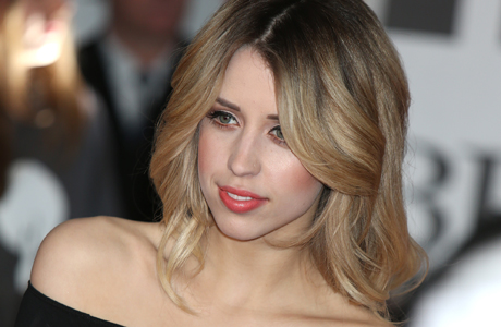 Peaches Geldof at the 2014 BRIT Awards. (Photo: Jon Furniss Photography/Invision/AP)