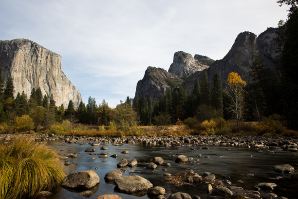 El Capitan and Merced River meet in Yosemite. (Photo: Fotolia)