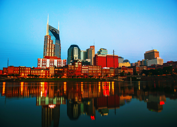 Nashville in the morning. (Photo: Fotolia)