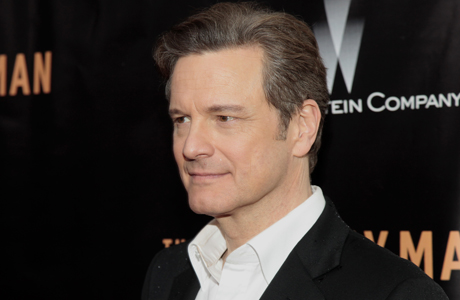 "Actor Colin Firth attends the New York premiere of ""The Railway Man"" on Monday, April 7, 2014, in New York. (Andy Kropa/Invision/AP)"