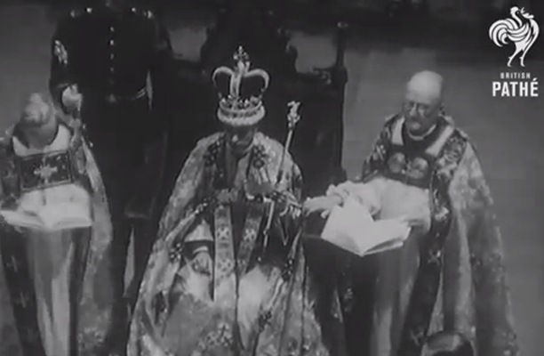 King George VI's coronation took place on May 12, 1937. (YouTube)