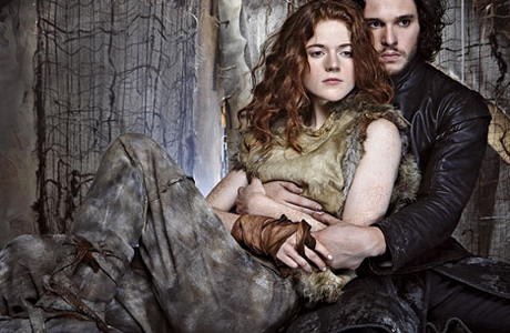 Ygritte and Jon Snow make it back for Season Four. (HBO)