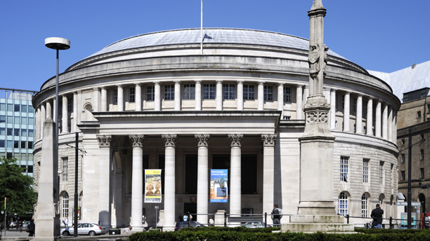 Central Library, St. Peter's Square, Manchester, England, United (Peter Richardson/Robert)