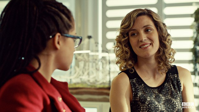 Delphine just wants to make crazy science with Cosima in their new lab at the Dyad Institute. (Can you blame her?)