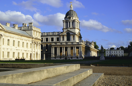 Formerly Royal Naval College, Greenwich, UNESCO World Heritage Site, London. (Photo by: Ethel Davies/Robert Harding /AP Images)