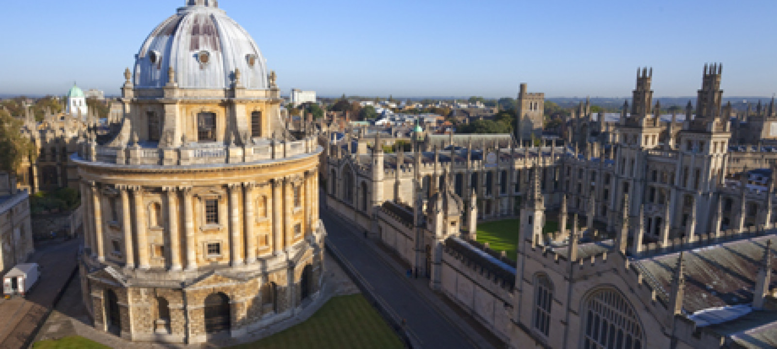 Radcliffe Camera and All Souls College, Oxford University, Oxfor