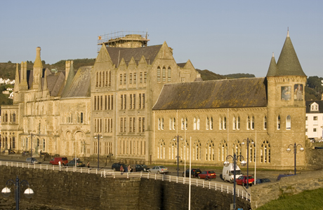 University, Aberystwyth, Dyfed, Wales ... Photo by: Rolf Richardson/Robert Harding /AP Images