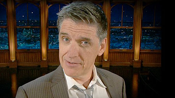 Craig Ferguson on The Late Late Show (Pic: CBS)