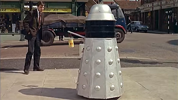 High street Dalek (Pic: British Pathé)