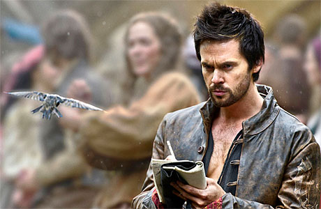 Tom Riley in 'Da Vinci's Demon's (Pic: STARZ)
