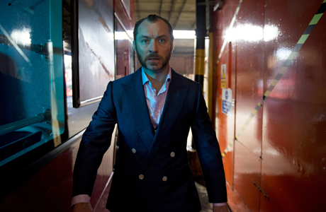 Jude Law as Dom Hemingway. (AP Photo/Fox Searchlight Pictures, Nick Wall)