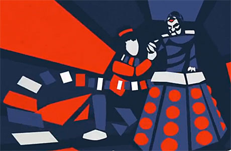 The Fourth Doctor and Davros (Pic: Horror)
