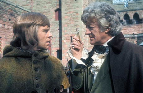 Jeremy Bolloch and Jon Pertwee in 'Doctor Who' (Pic: BBC)