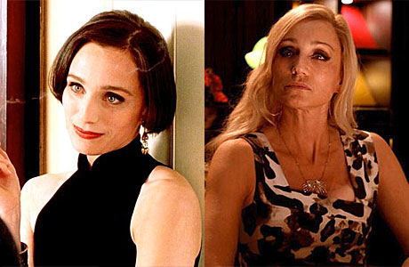 Kristin Scott Thomas as Fiona, and in 'Only God Forgives'