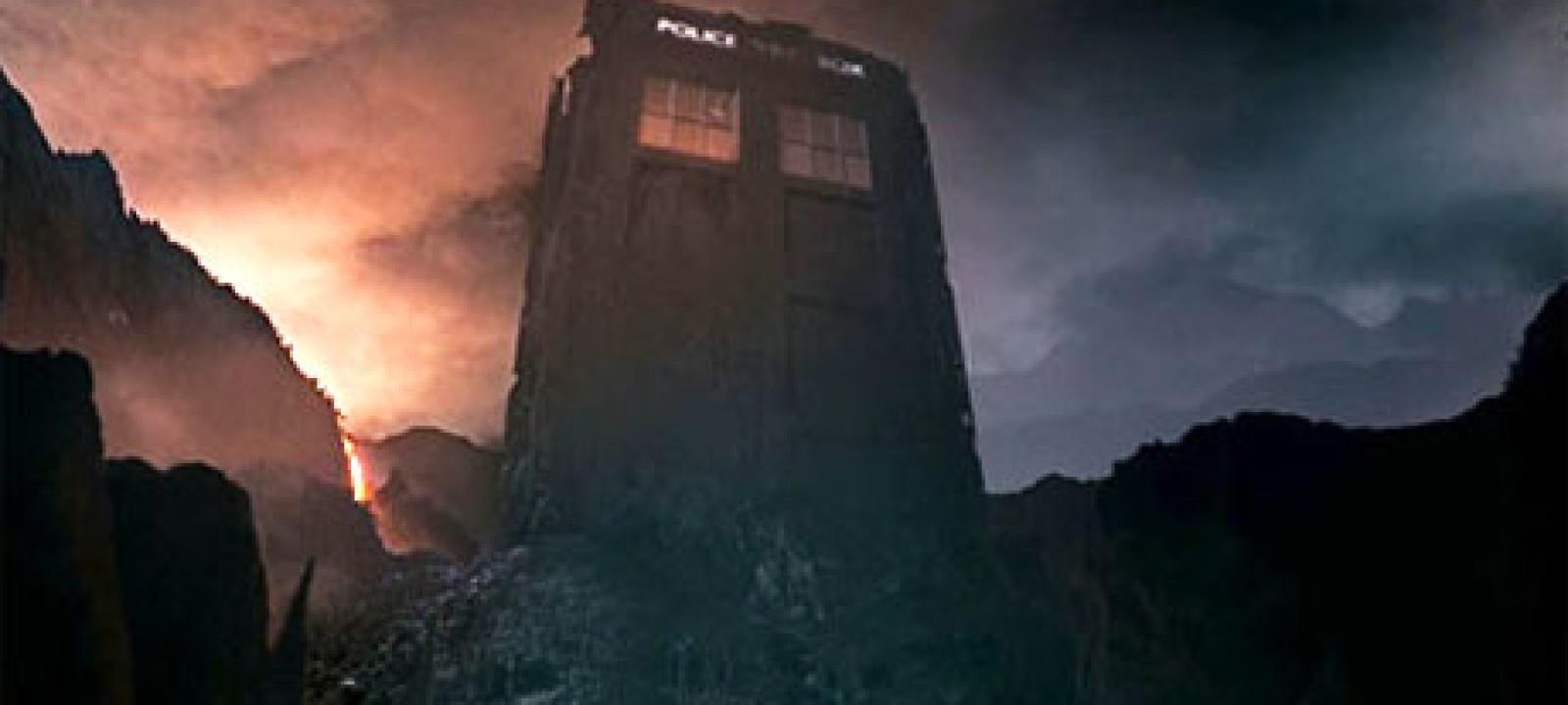 The TARDIS on Trenzalore