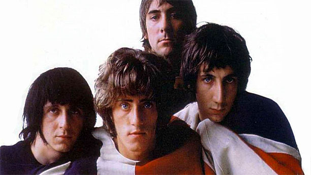 BBC America early photograph of The Who, classic rock gods