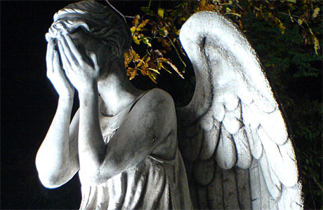 A Weeping Angel (Pic: BBC)