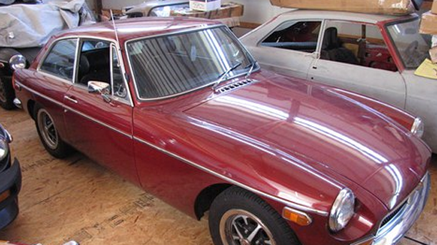 This 1973 MGB GT is up for sale.