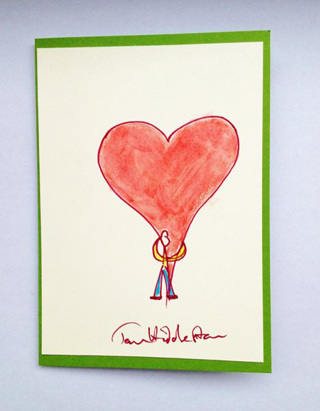 If you didn't think you could love Hiddleston any more, then take a peek at  this loved up card. (Cards for Keeps)