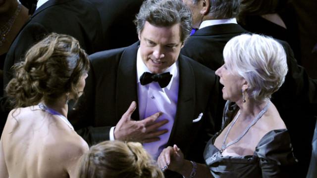 Livia Giuggioli, Colin Firth, Helen Mirren, Taylor Hackford