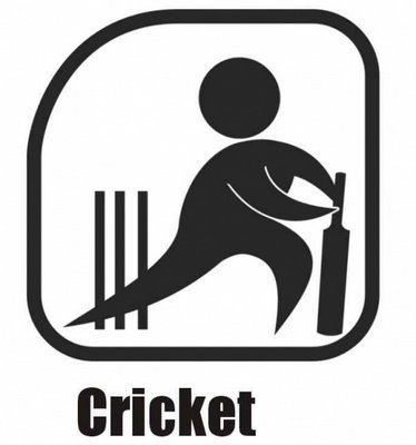 Cricket is played here. (Inter-Agency Games)