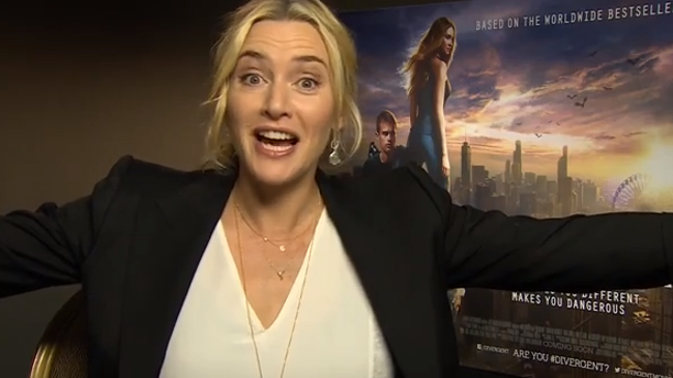 """Kate Winslet sends a wedding wish saying, """"Jenny, do you feel like you're flying!"""" (YouTube)"""