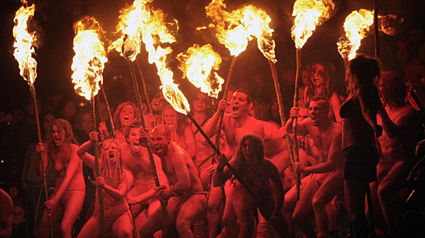 Getting hot and bothered at the Beltane Fire Festival (2009) in Edinburgh(Press Association via AP Images)