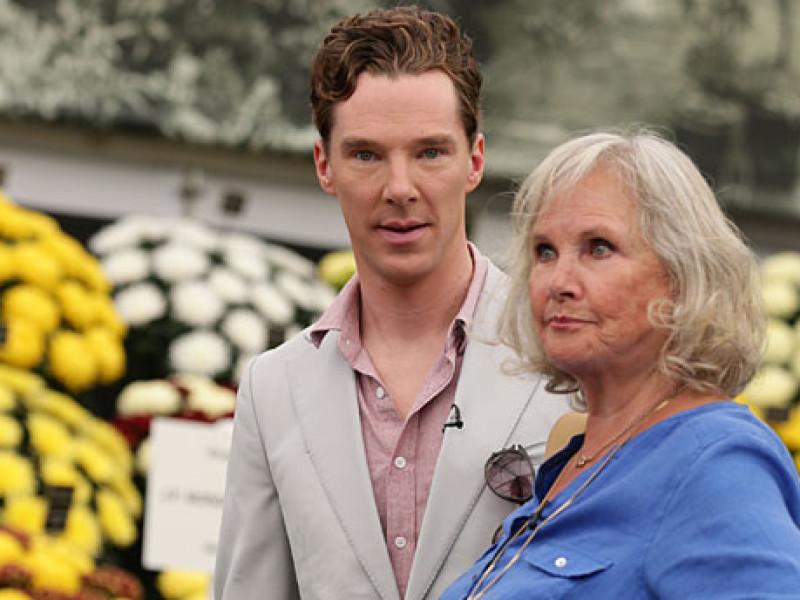 Benedict Cumberbatch and Wanda Ventham