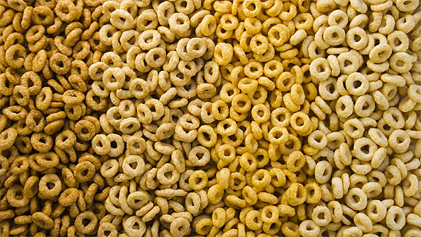 Cheerios, but not like that (Pic: AP Images)