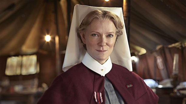 Hermione Norris in 'The Ark' (Pic: BBC)