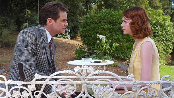 Colin Firth and Emma Stone in 'Magic in the Moonlight' (Pic: Sony Pictures)