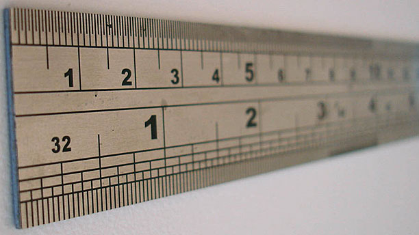 A helpful ruler (Pic: Wikipedia)