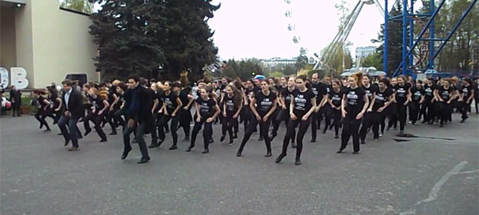 Sherlock Russian Dancemob