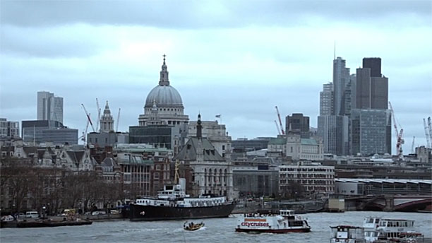 London Skyline (Pic: '24: Live Another Day')