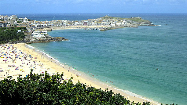 The beach at St Ives, Cornwall (Pic: Wikipedia)