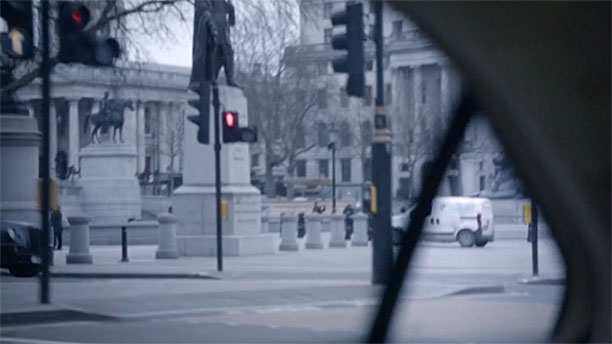 Trafalgar Square (Pic: '24: Live Another Day')