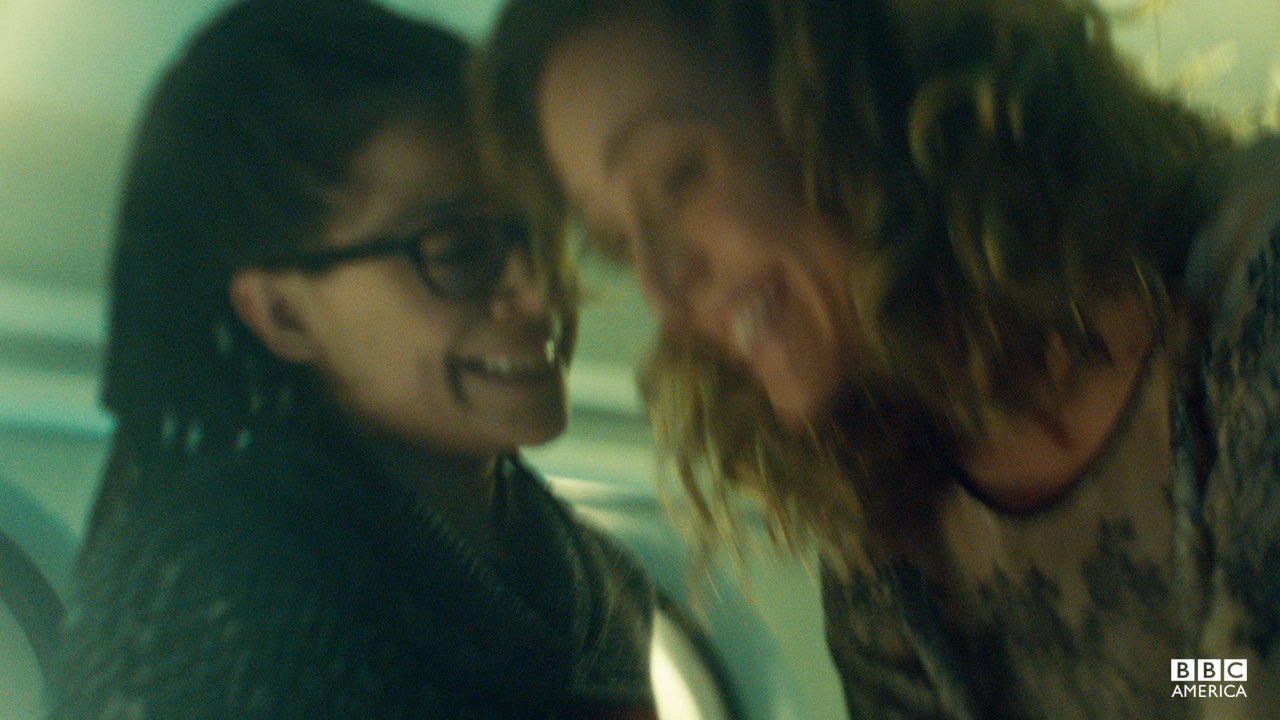 "Cosima keeps her promise to get Delphine ""completely baked."""