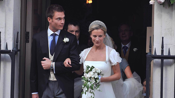 Lady Rose Gilman at her wedding to husband George in 2008. (Photo: Press Association via AP Images)