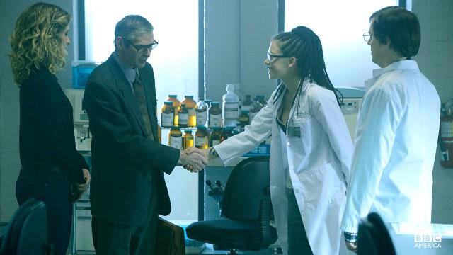 Cosima meets her maker, Professor Ethan Duncan.