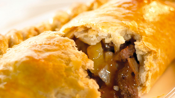 A pasty a day keeps the doctor away ... okay, not really. (Pasty and Co.)
