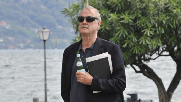 British actor, comedian and screenwriter John Cleese is pictured at the lakeside promenade of Lake Maggiore in Ascona, Switzerland, 14 June 2008. Photo by: Peter Kneffel/picture-alliance/dpa/AP Images