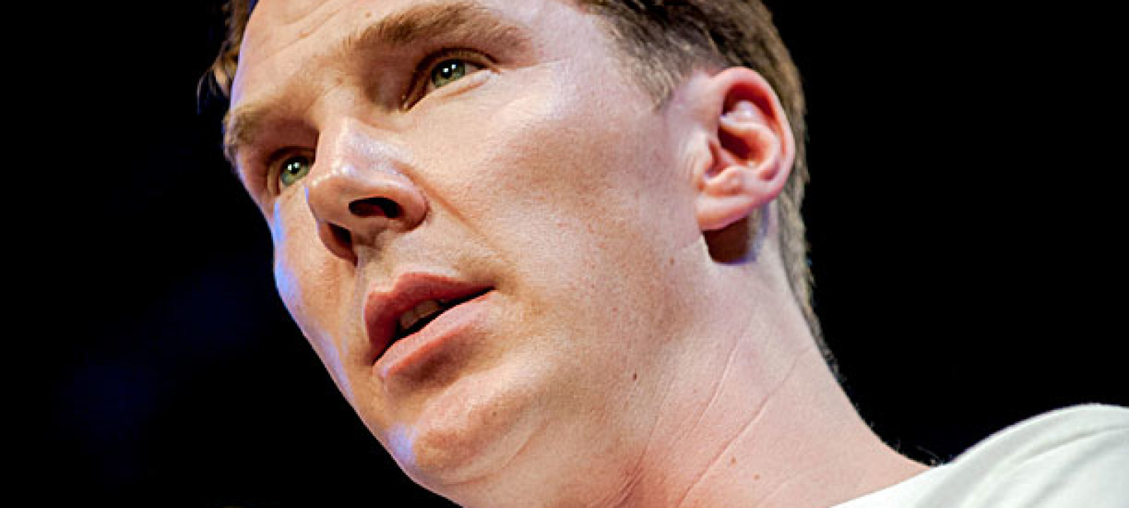 Benedict Cumberbatch at the Hay Festival