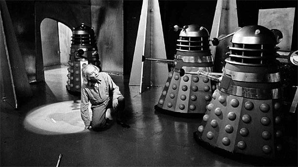 The Doctor meets the Daleks for the first time (Pic: BBC)