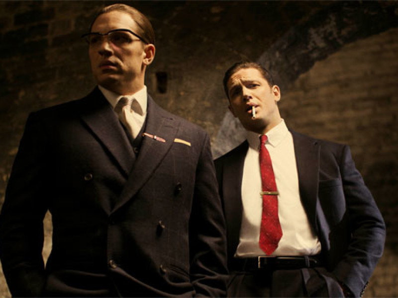 Tom Hardy as The Krays