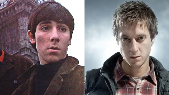 Keith Moon and Arthur Darvill