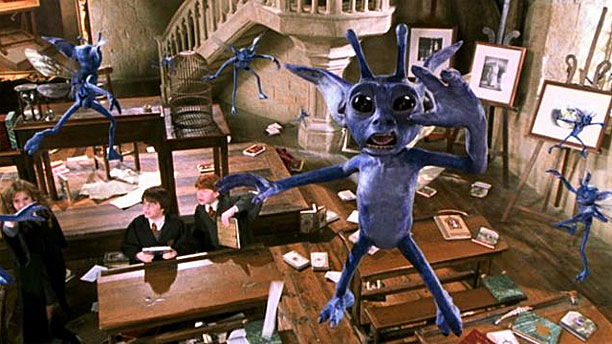 Pixes, as shown in 'Harry Potter and the Chamber of Secrets' (Pic: Warners)